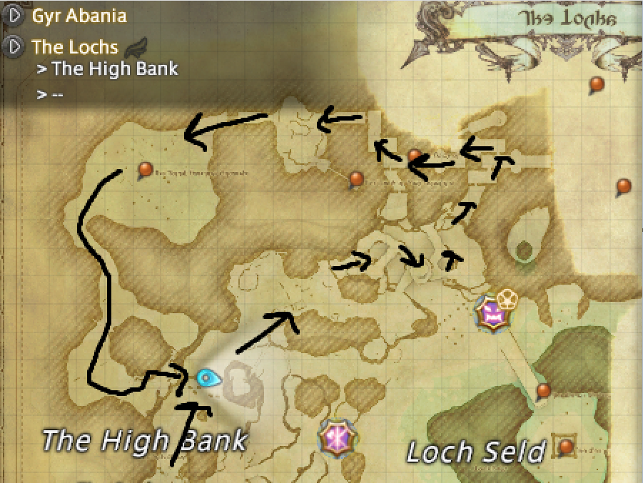 Spoilers That Aether Current Near Town You Seemingly Can T Get To In The Lochs Ffxiv